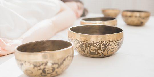 Klangschalenmeditation - Meditationen mit Klangschalen